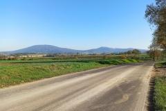 Widok z drogi Wirki - Wiry