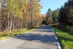Podjazd z Tąpadła do przełęczy Tąpadła