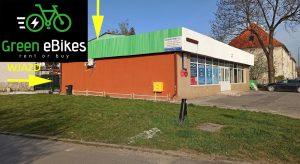 Dojazd do wypożyczalni Green eBikes